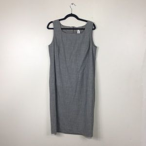 MaxMara Grey Tank Midi Dress